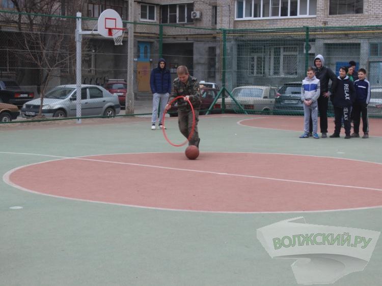 В Волжском прошел спортивный «Праздник микрорайона»