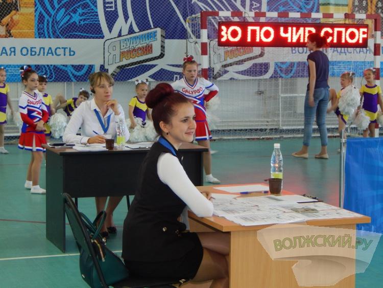 В Волжском прошло открытое первенство по черлидингу