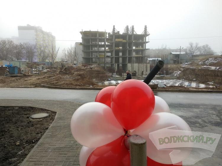 В Волжском сдали долгострой на площади Труда