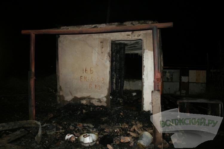 В Волжском сократилась тяжесть последствий пожаров