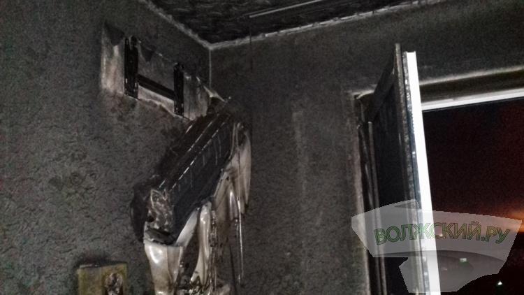 В Волжском выросло число пожаров