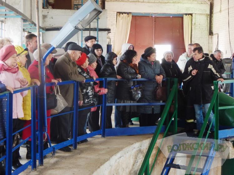 «Водоканал» провел для общественников города экоэкускурсию