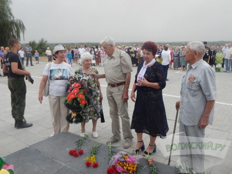 Волжане почтили память жертв бомбардировки Сталинграда