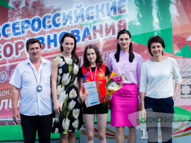 Волжане стали призерам Кубка Елены Исинбаевой