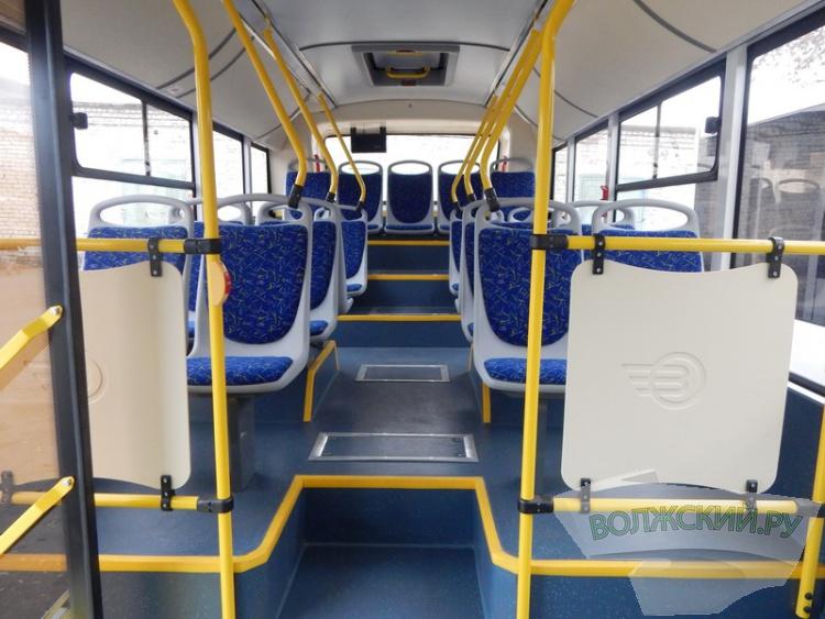 Волжская автоколонна получила первые низкопольные автобусы