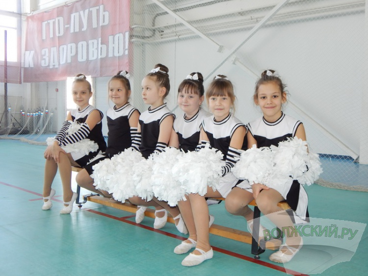 Волжские черлидеры выиграли поездку в Краснодар