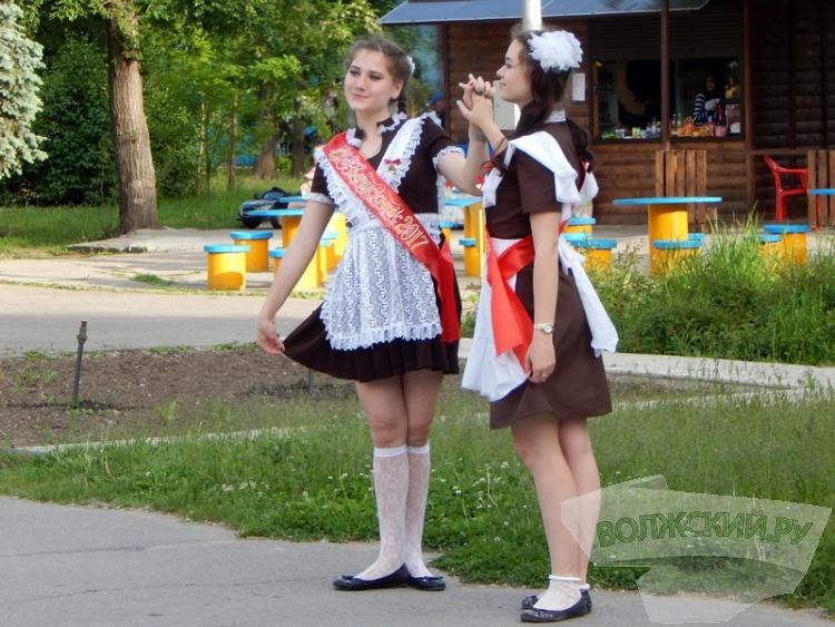 Волжские выпускники отпраздновали Последний Звонок
