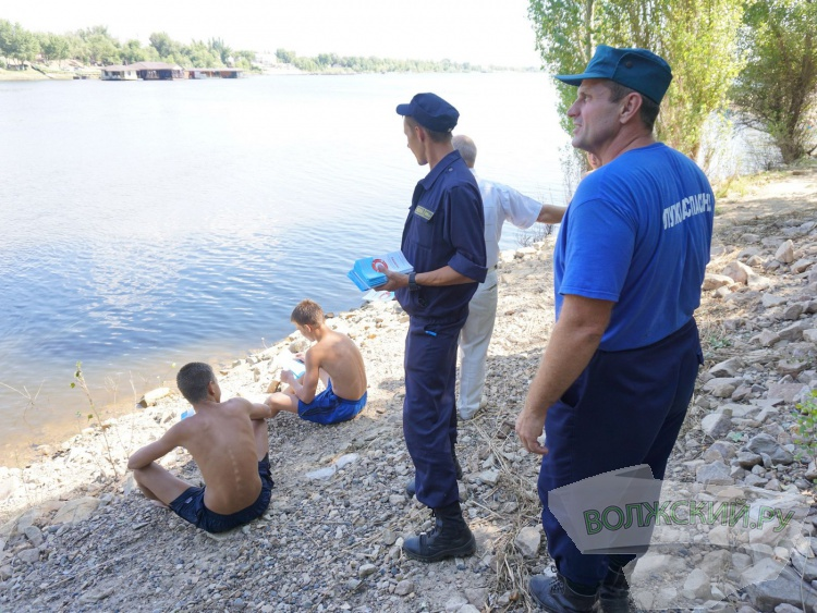 Волжским подросткам напомнили о безопасности на воде