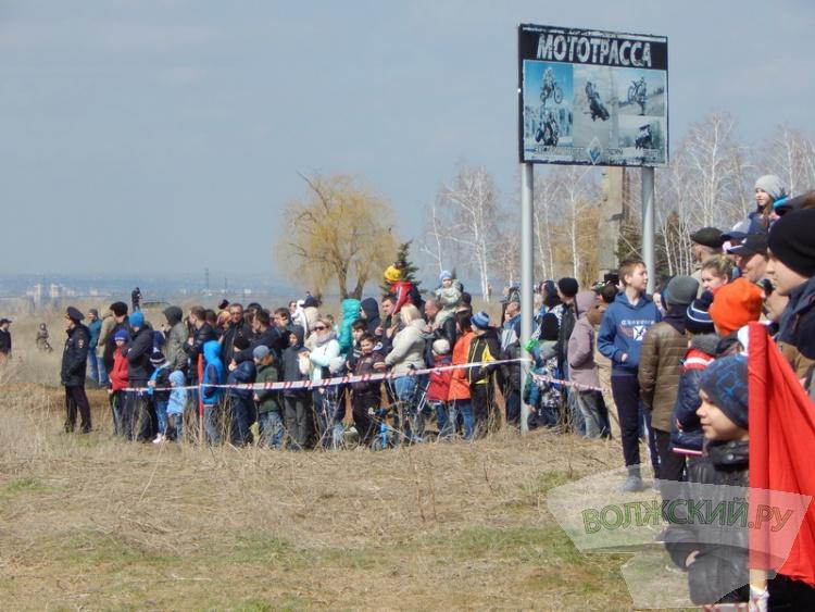 Волжский мотокросс собрал спортсменов со всей России