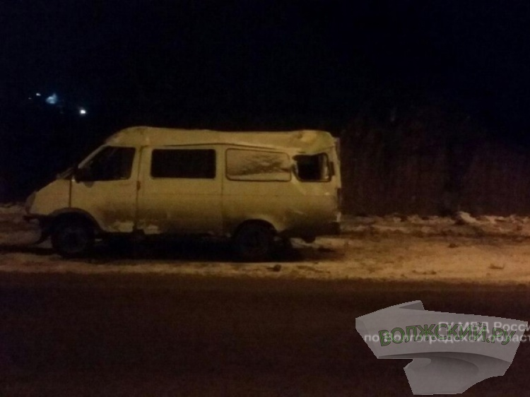 Два пассажира маршрутки №40 пострадали вДТП наюге Волгограда