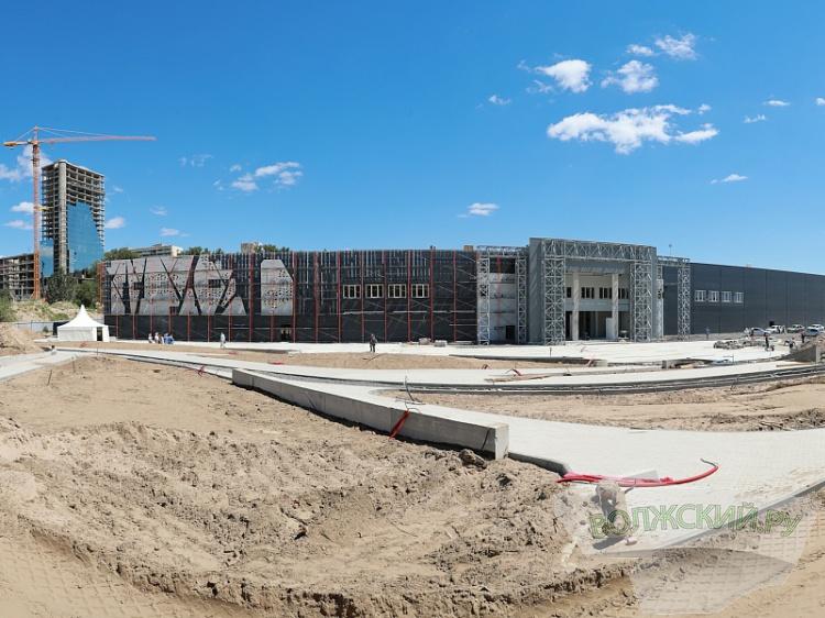 ВВолгограде завершают строительство музея «Россия. Моя история»