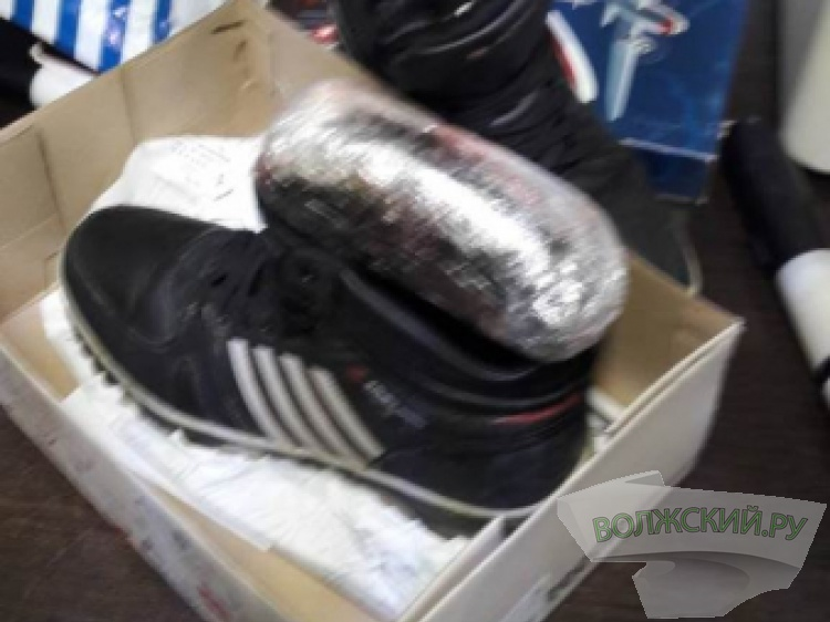 Волгоградец прятал 750 доз наркотиков вкоробке из-под обуви