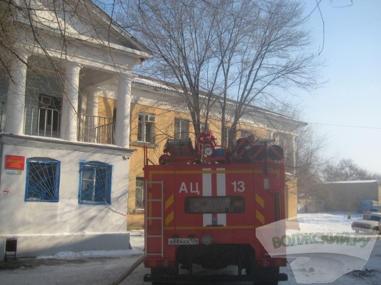 ВВолжском неизвестные подожгли филиал психиатрической клиники