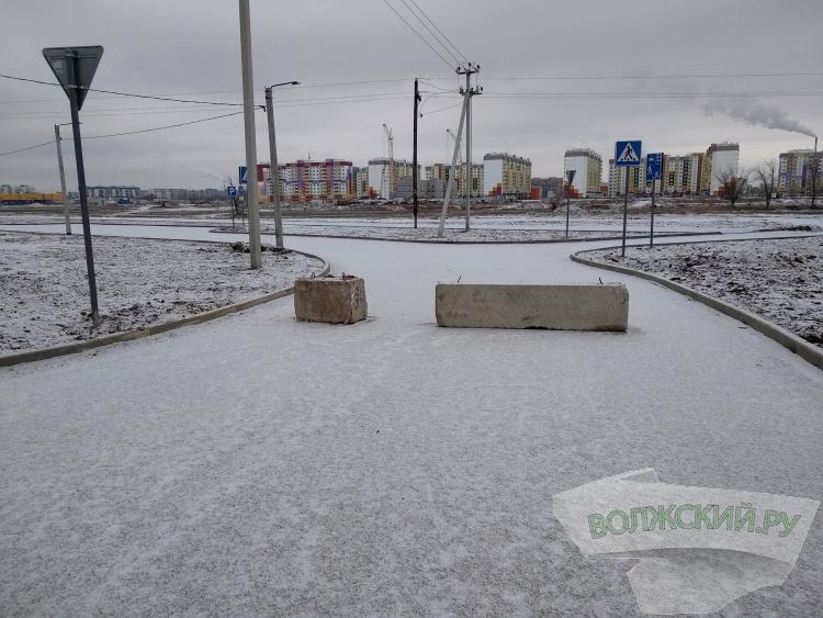 В Волжском открыли дорогу-дублер в 28 микрорайоне