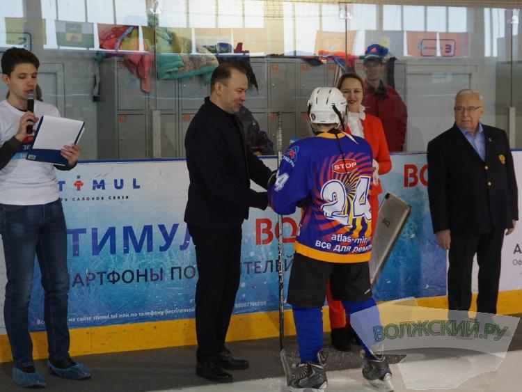Волжане отметили День зимних видов спорта на льду