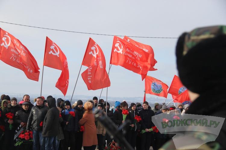 Волжане почтили память защитников Сталинграда