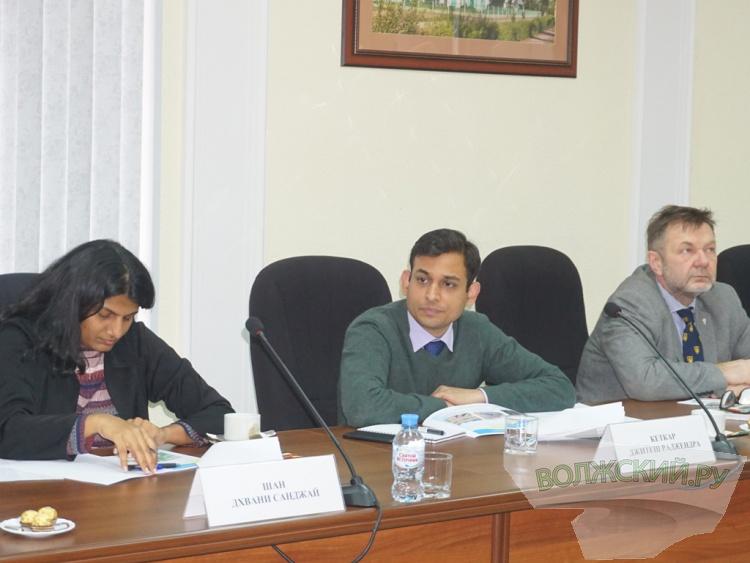 Волжский посетила делегация БРИКС