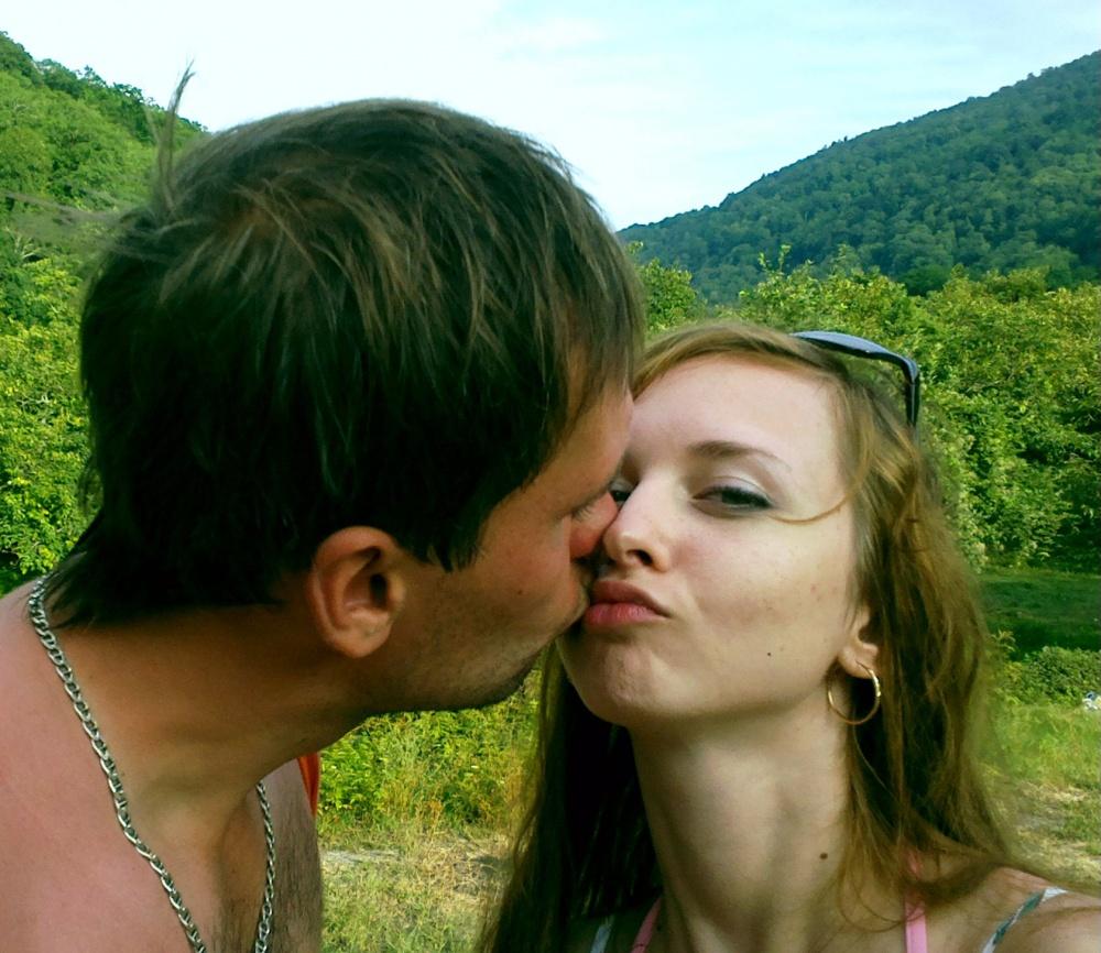 Поцелуи члена с 14 фотография