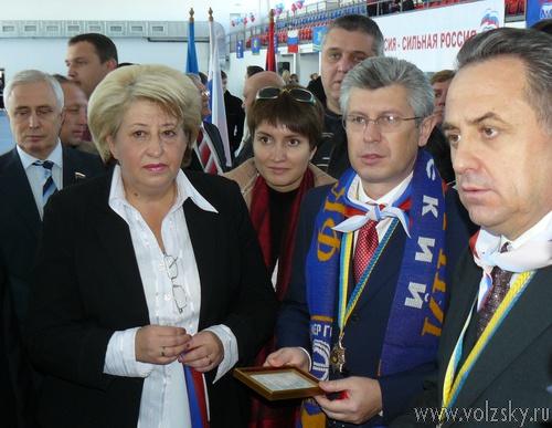 Министр Мутко потребовал от «Энергии» три подряд победы в сезоне