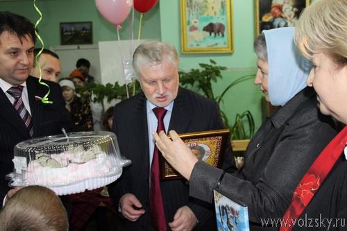 Миронов в Волжском