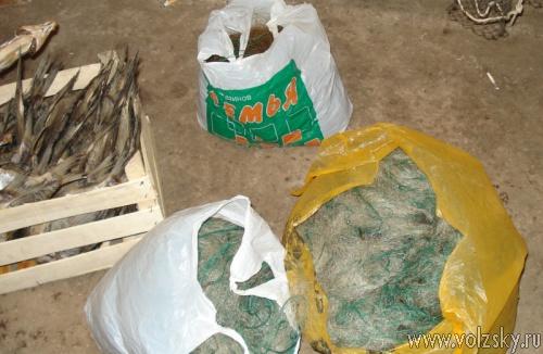 На острове Зелёный ликвидировали подпольный цех по производству вяленной рыбы