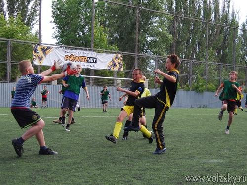 Открытие Первенства Волжского по футболу среди детских команд