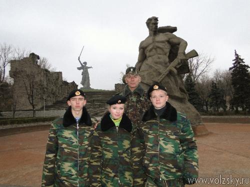 По местам боевой славы Земли Волгоградской