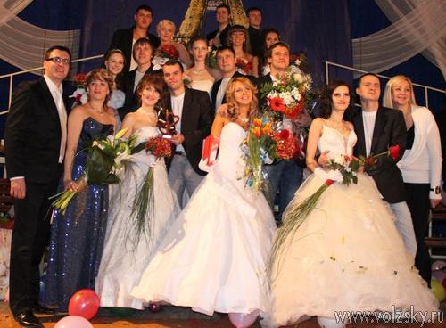 Пяткины Екатерина и Роман - Лучшая свадебная пара 2010 года
