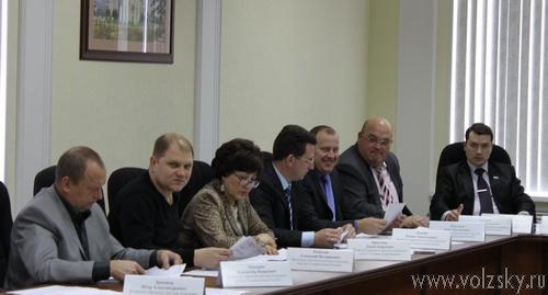 Состоялось первое в 2011 году заседание гордоской думы