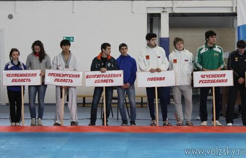 В Волжском проходят соревнования первенства России по тхэквондо WTF