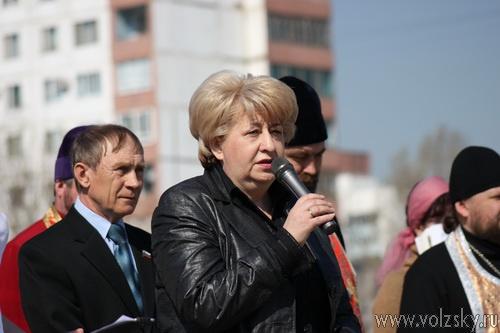 В Волжском прошёл митинг посвященный Дню памяти жертв радиационных аварий и катастроф