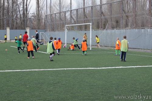 В Волжском стартовало Первенство по футболу среди детских и юношеских команд