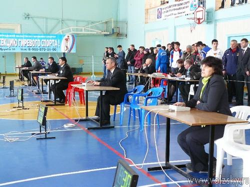 В Волжском стартовало первенство России по гиревому спорту