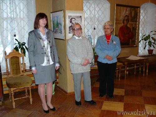 выставка Виктора Киселева