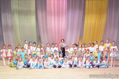 Юбилей ансамбля танца «Волгарята»