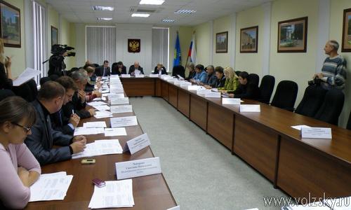 Заседание Волжской Думы 22-10-2010