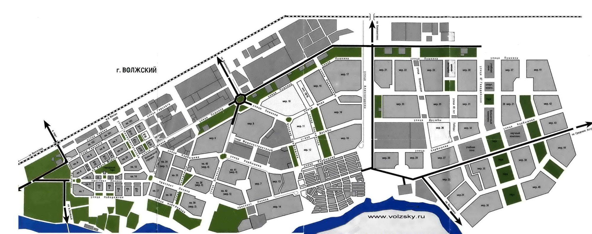 Карта схема г волжского фото 828