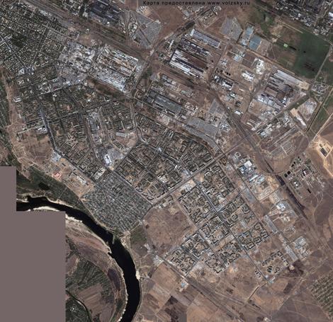 Карта волжского информационный сайт