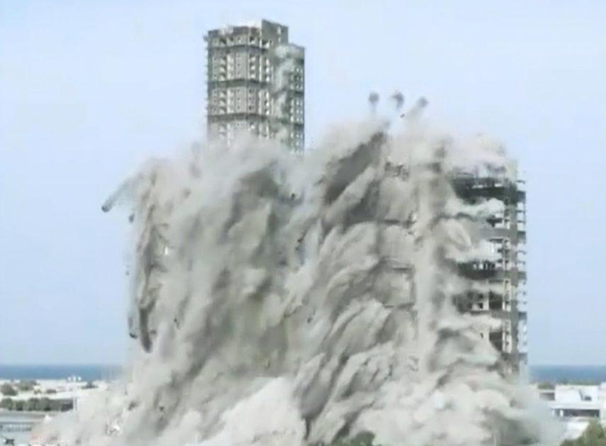 Взрыв высотных зданий