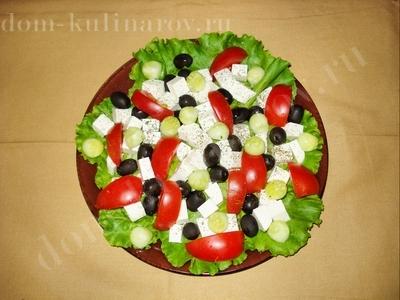 Для приготовления греческой закуски нам понадобится.  Дом Кулинаров.